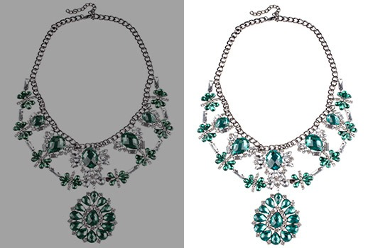 jewelry editing image